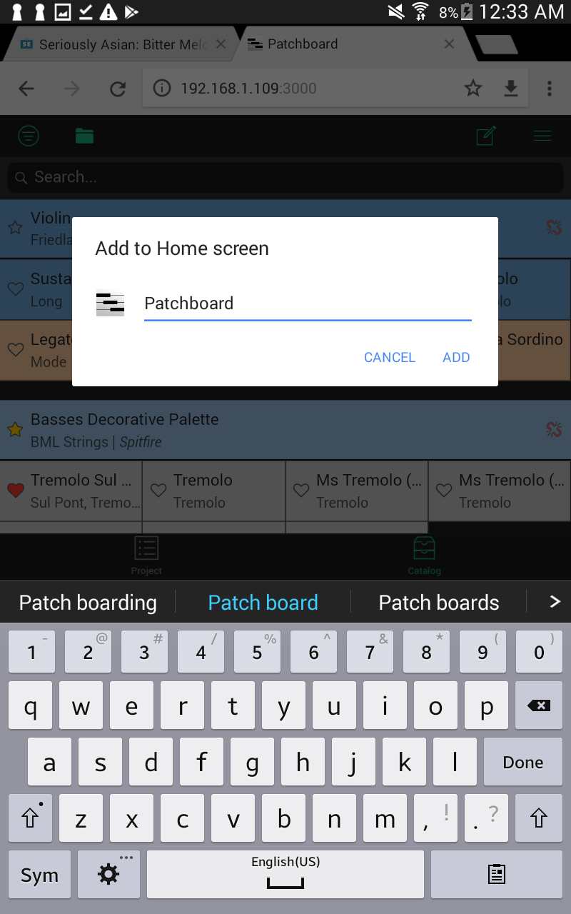 Android Add to Home