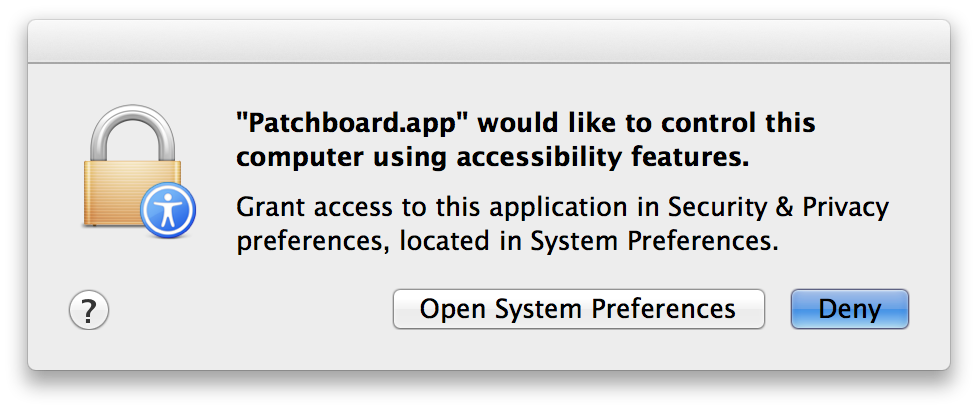 macOS Accessibility
